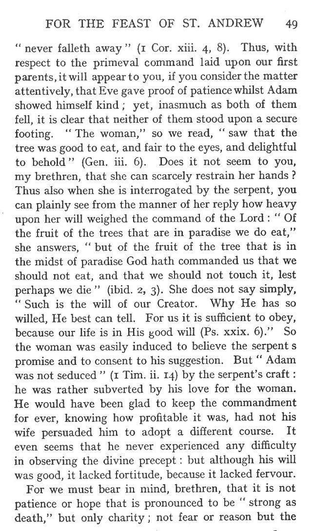 1st Sermon St. Andrew 11