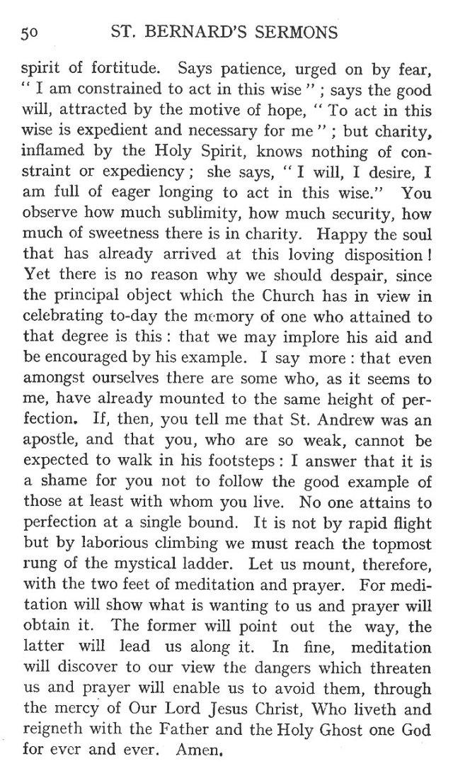 1st Sermon St. Andrew 12
