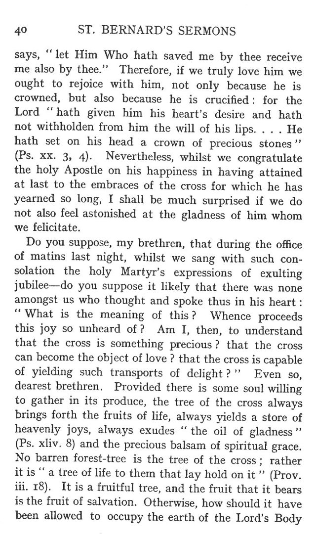 1st Sermon St. Andrew 2