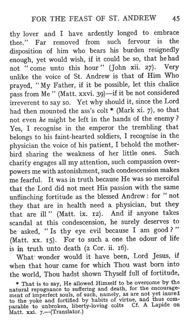 1st Sermon St. Andrew 7