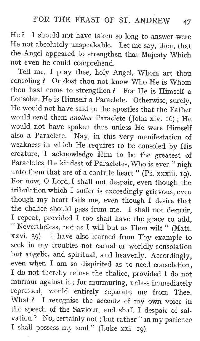 1st Sermon St. Andrew 9