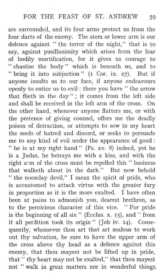 2nd Sermon St. Andrew 9