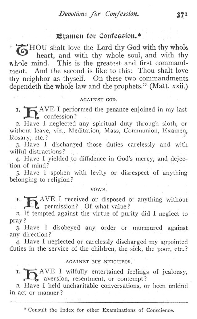 Devotions for Confession 3