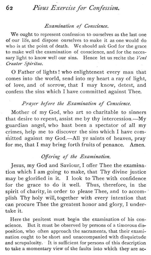 Exercises for Good Confession 2