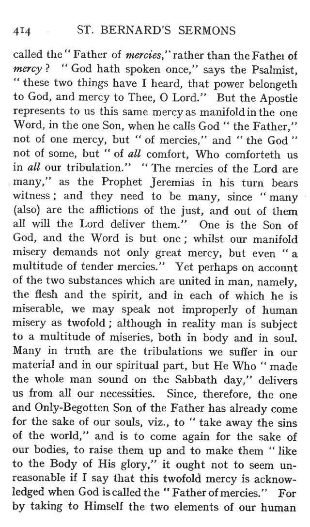 Fifth Sermon Christmas Day 4