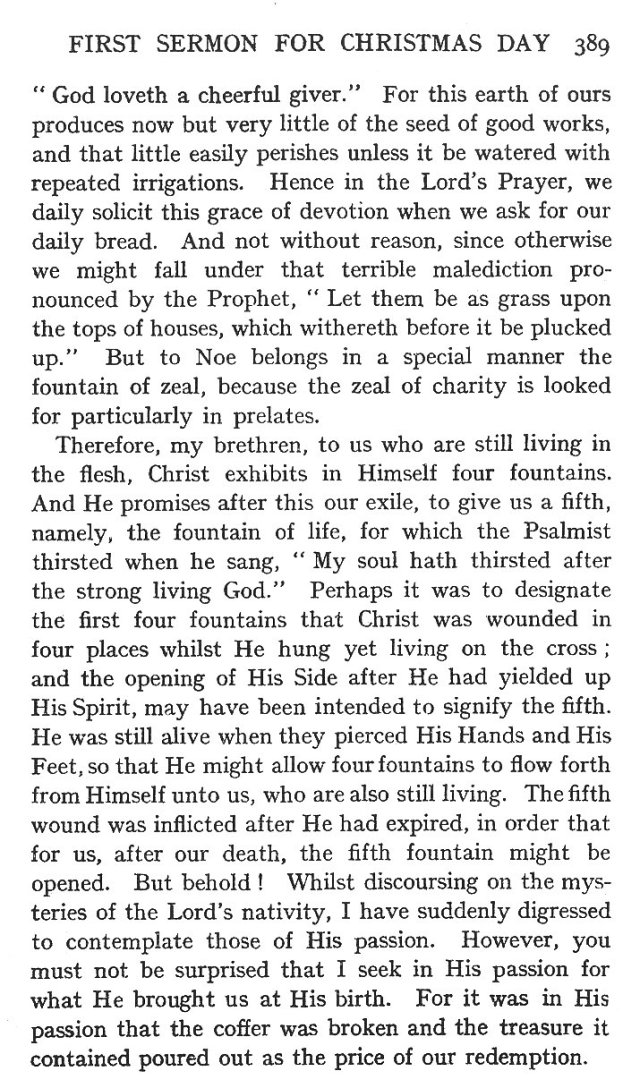 First Sermon Christmas Day 9