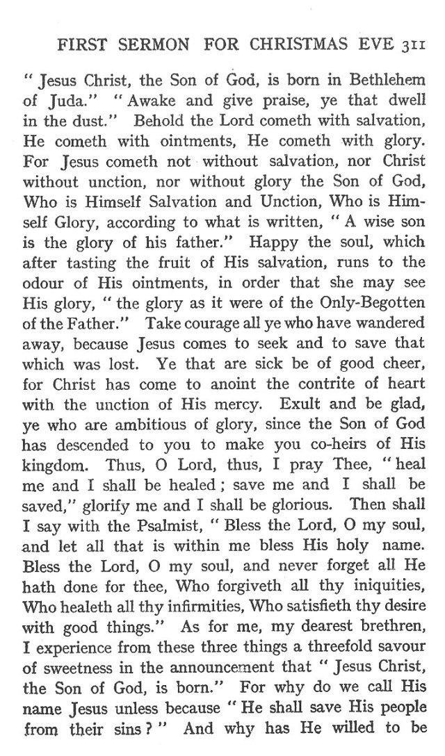 First Sermon Christmas Eve 3