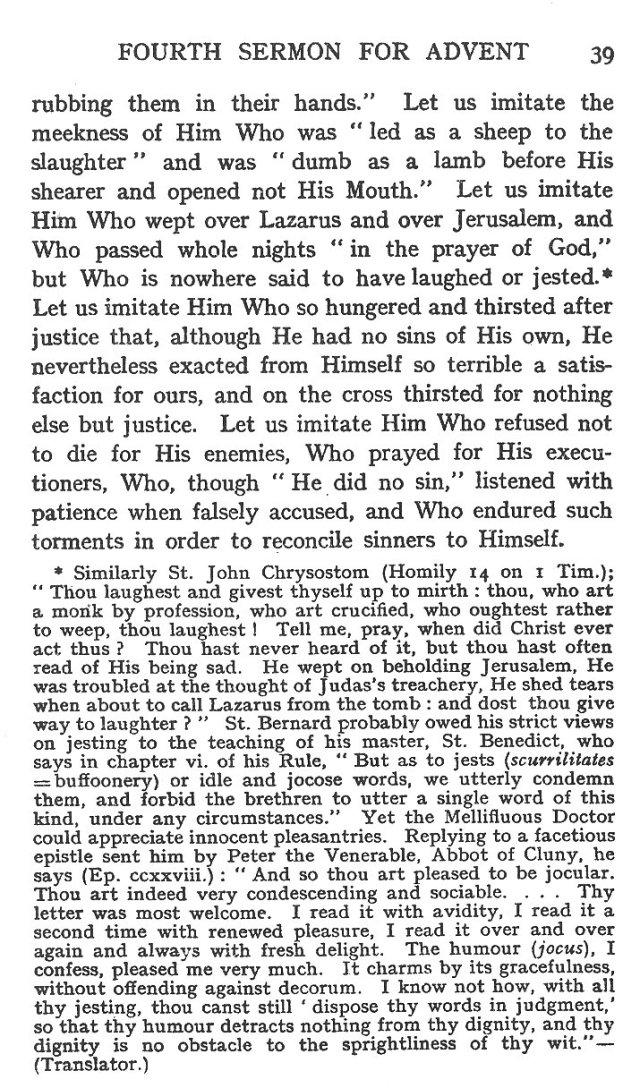 Fourth Sermon Advent 8