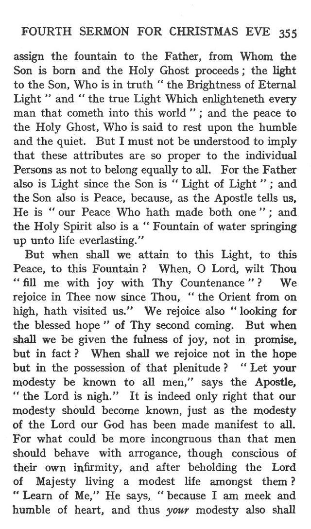 Fourth Sermon Christmas Eve 13
