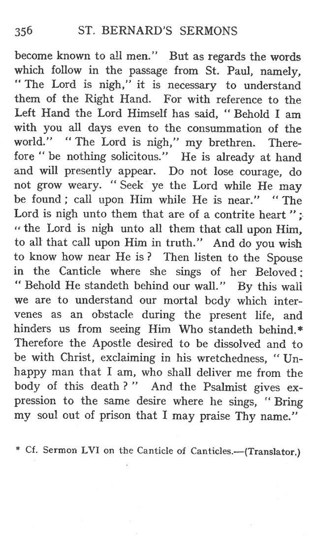 Fourth Sermon Christmas Eve 14