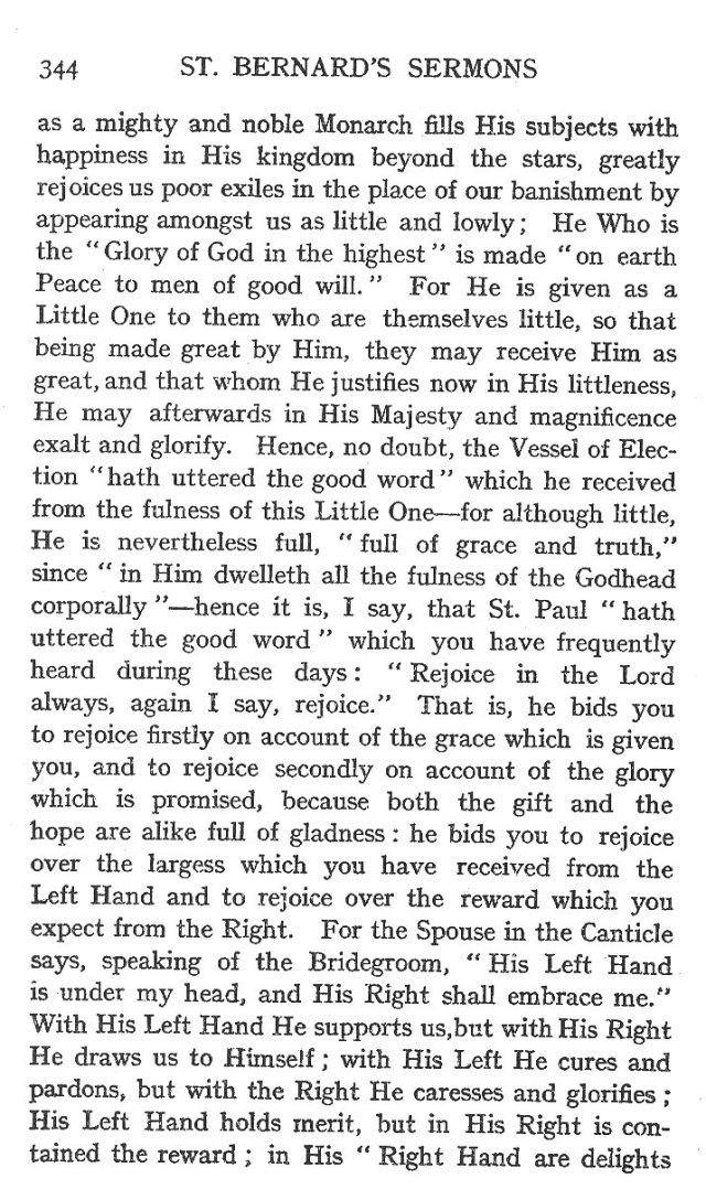 Fourth Sermon Christmas Eve 2