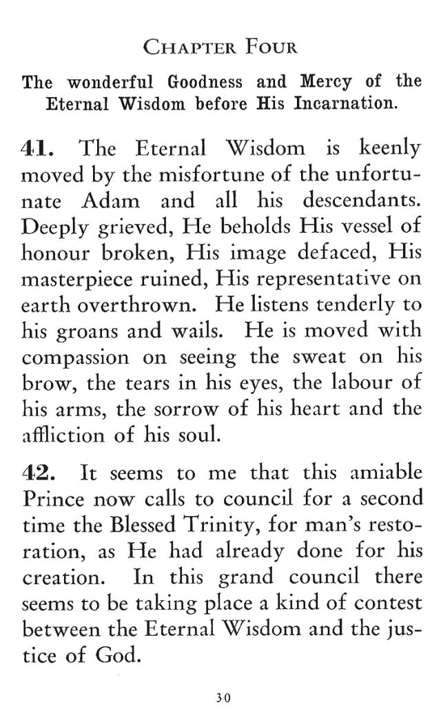 Goodness and Mercy of Eternal Wisdom before Incarnation 1
