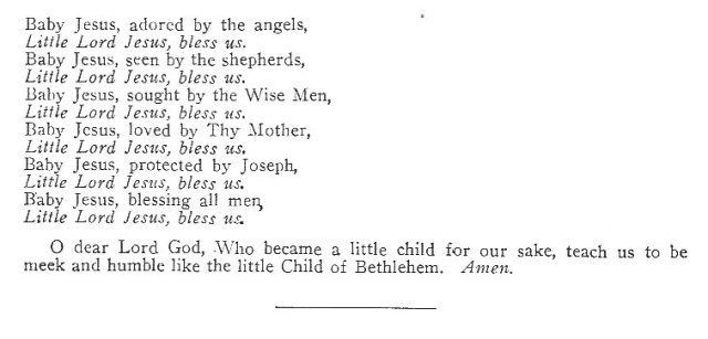 Little Litany of Holy Child 2