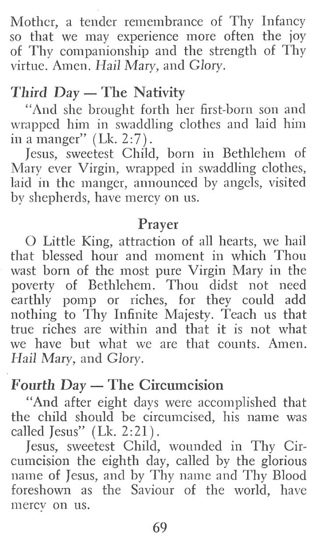 Novena to Infant of Prague 4