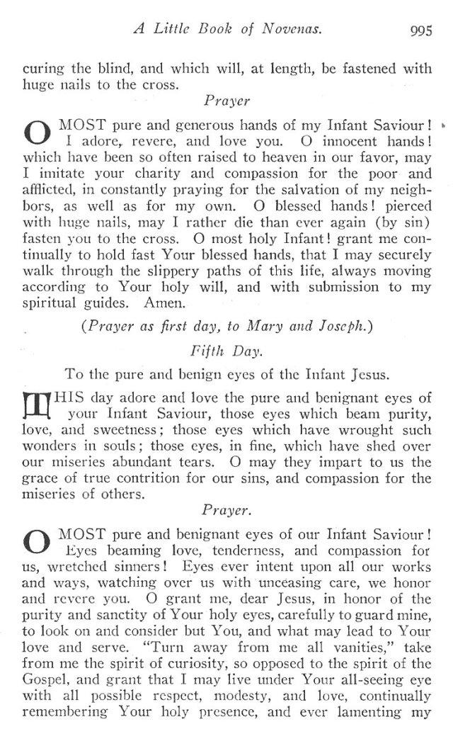 Novena to the Holy Child Jesus 4