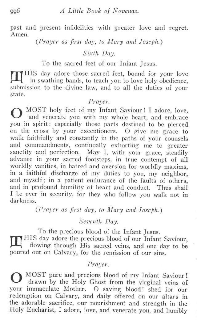 Novena to the Holy Child Jesus 5