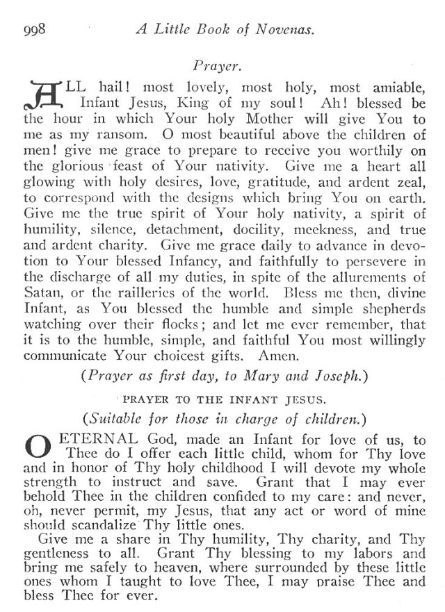 Novena to the Holy Child Jesus 7