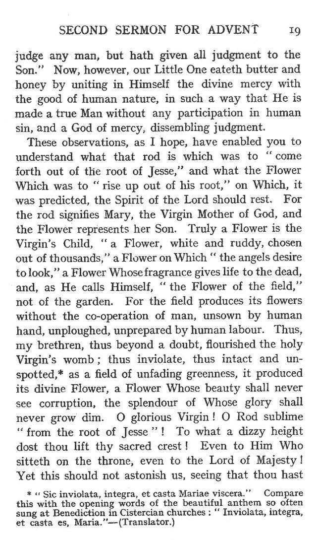 Second Sermon Advent 5
