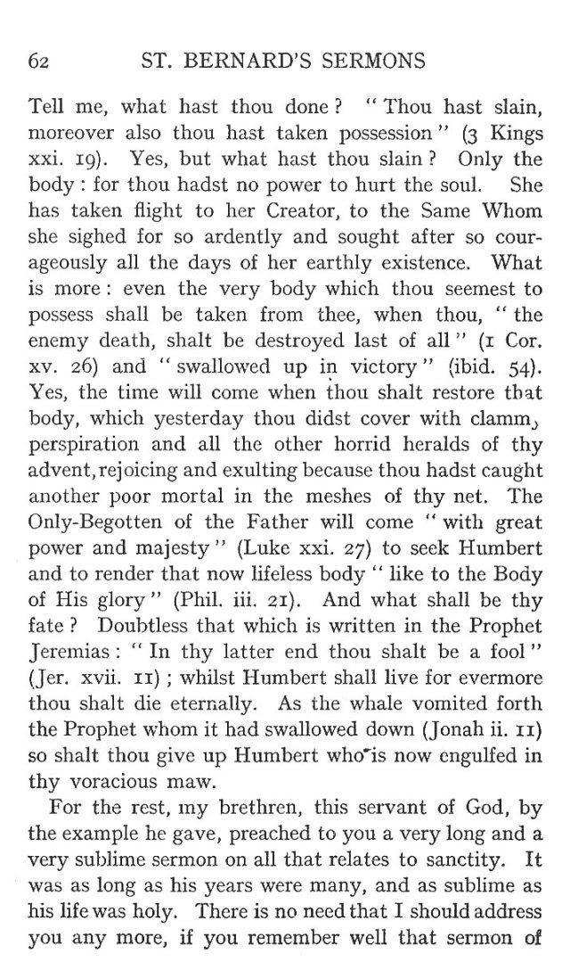 Sermon St. Humbert 2