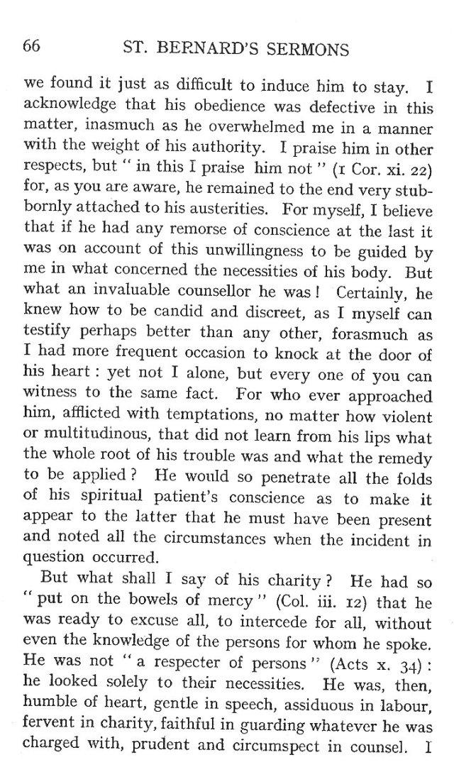 Sermon St. Humbert 6