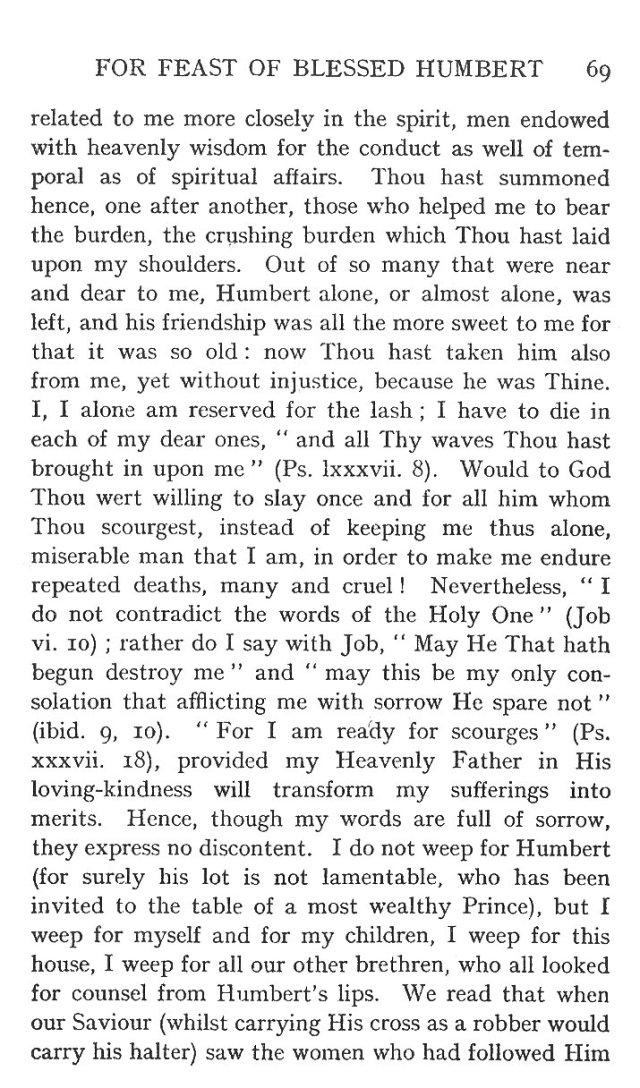 Sermon St. Humbert 9