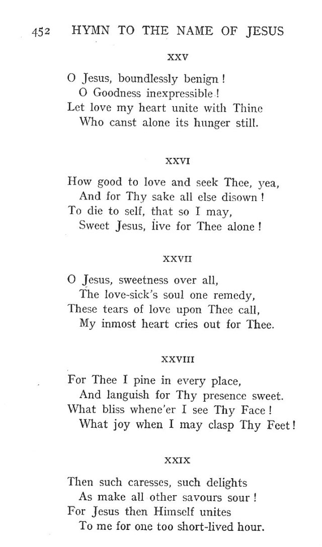 St. Bernard's Hymn Holy Name 6