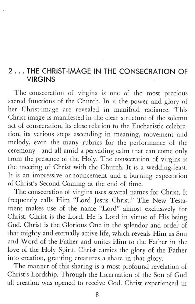 Christ in His Consecrated Virgins - Christ-Image 1