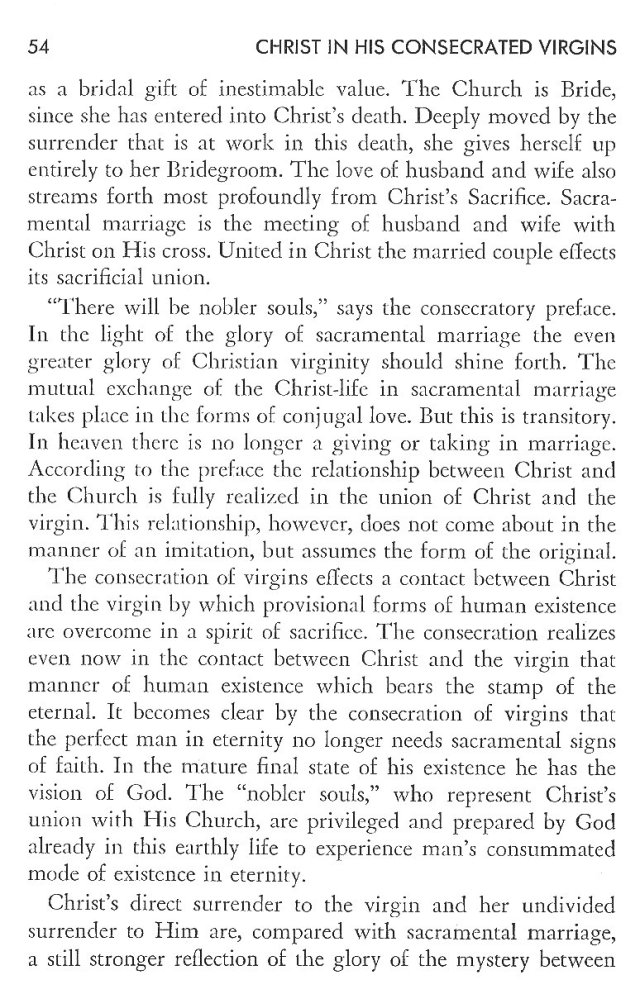 Christ in His Consecrated Virgins - Christ-Mystery in Preface 14