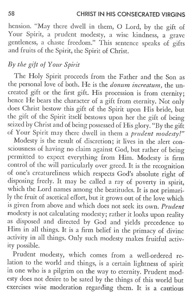Christ in His Consecrated Virgins - Christ-Mystery in Preface 18