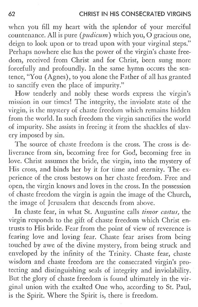 Christ in His Consecrated Virgins - Christ-Mystery in Preface 22