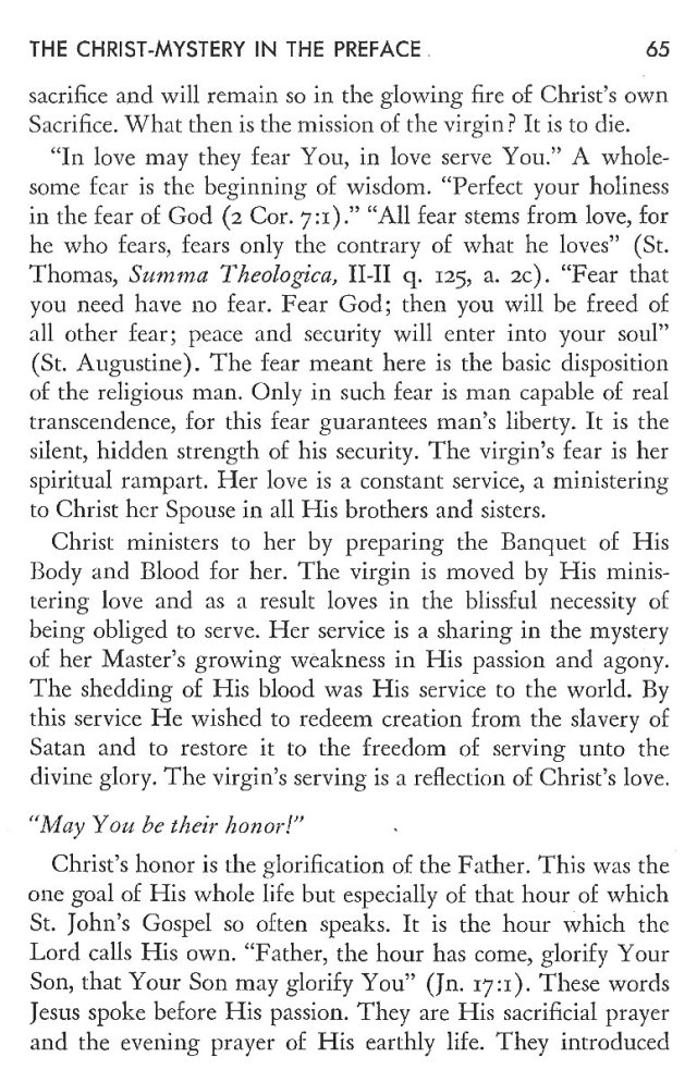 Christ in His Consecrated Virgins - Christ-Mystery in Preface 25