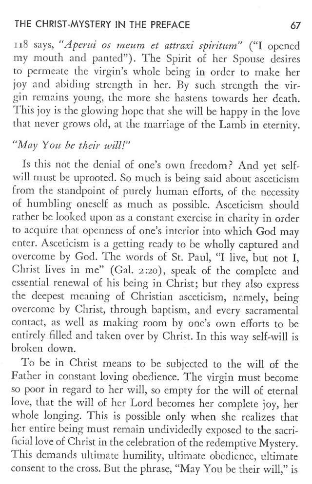 Christ in His Consecrated Virgins - Christ-Mystery in Preface 27