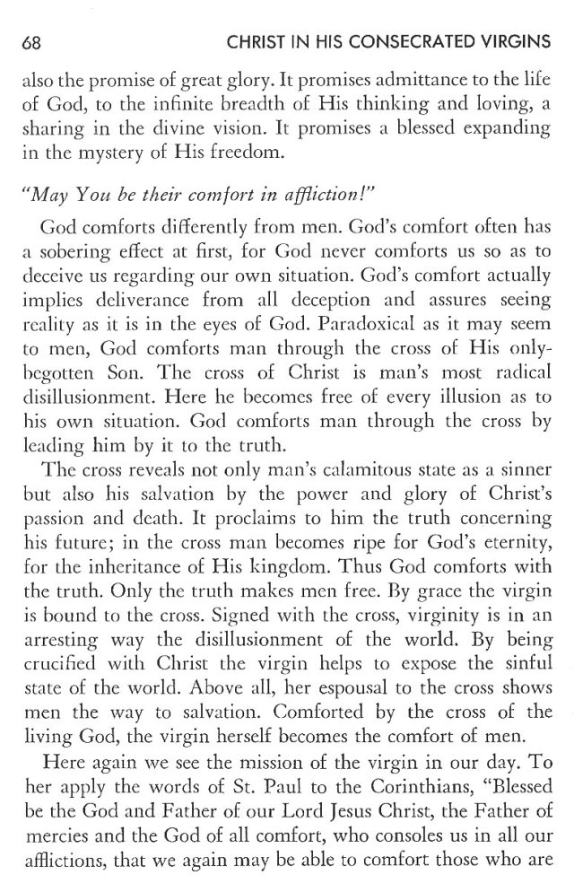Christ in His Consecrated Virgins - Christ-Mystery in Preface 28