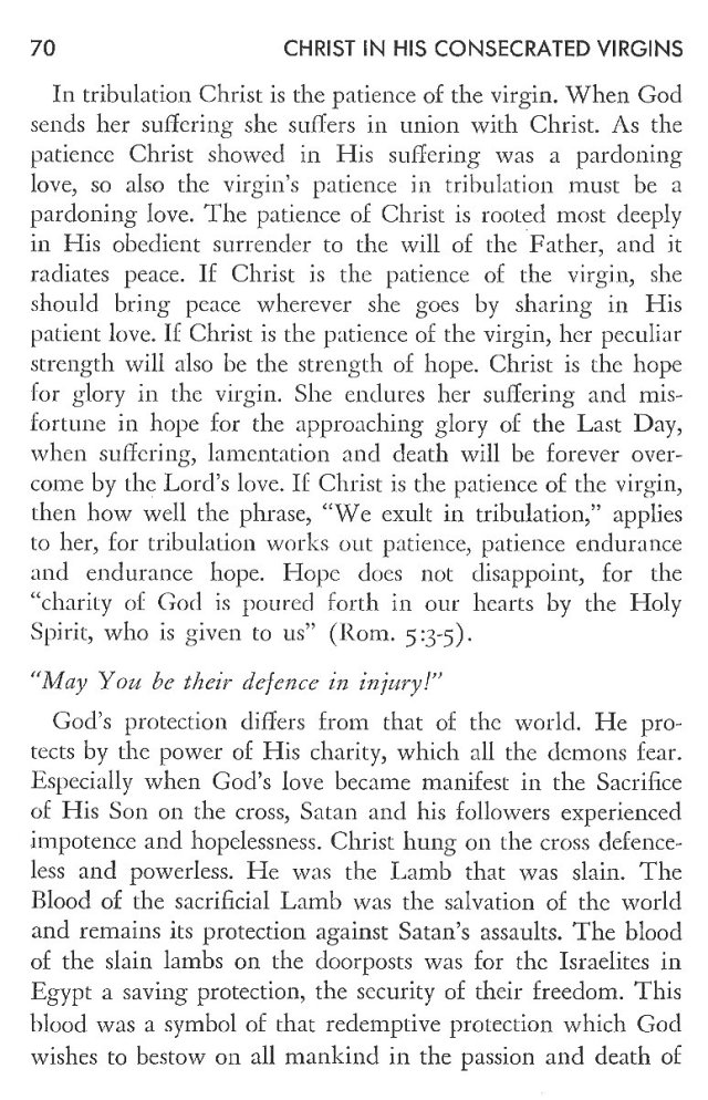 Christ in His Consecrated Virgins - Christ-Mystery in Preface 30