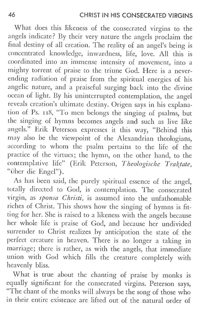 Christ in His Consecrated Virgins - Christ-Mystery in Preface 6