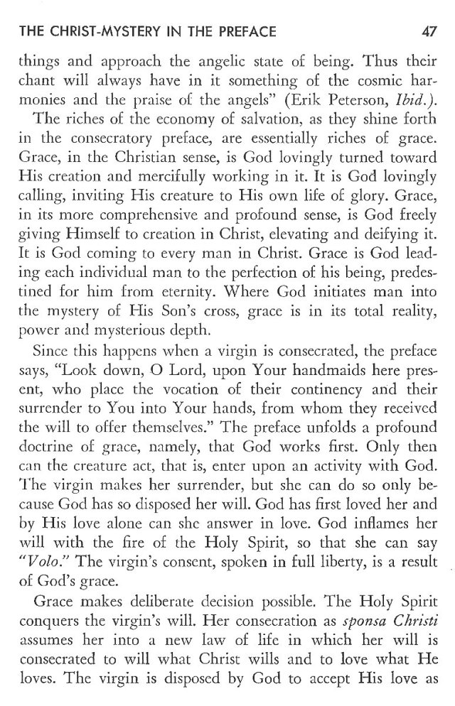 Christ in His Consecrated Virgins - Christ-Mystery in Preface 7