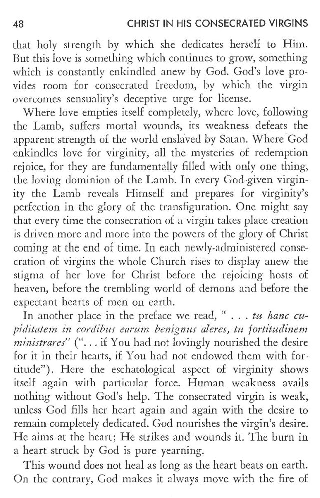 Christ in His Consecrated Virgins - Christ-Mystery in Preface 8
