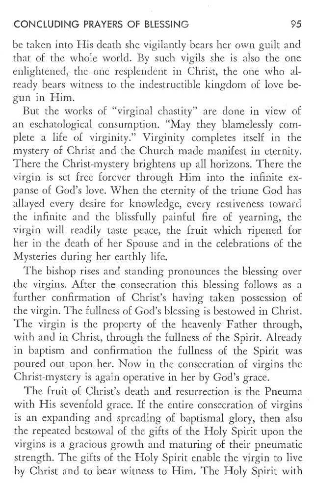 Christ in His Consecrated Virgins - Concluding Prayers 4