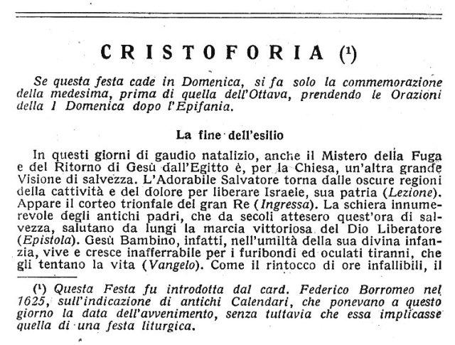 Christophoria 1