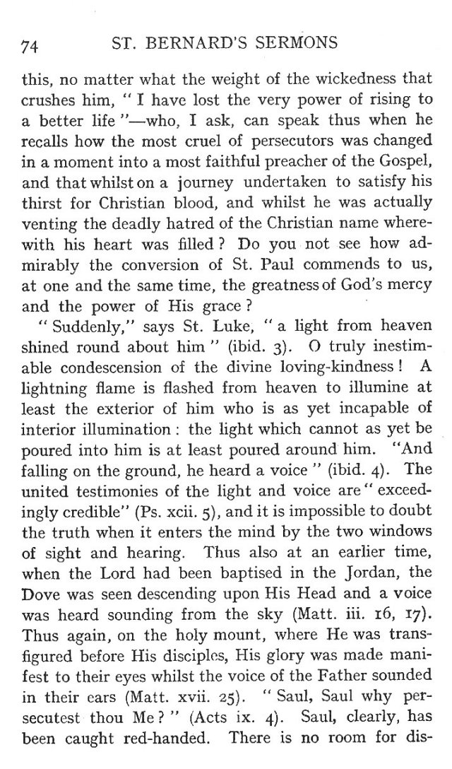 First Sermon Conversion St. Paul 2