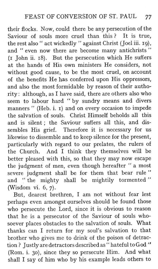 First Sermon Conversion St. Paul 5