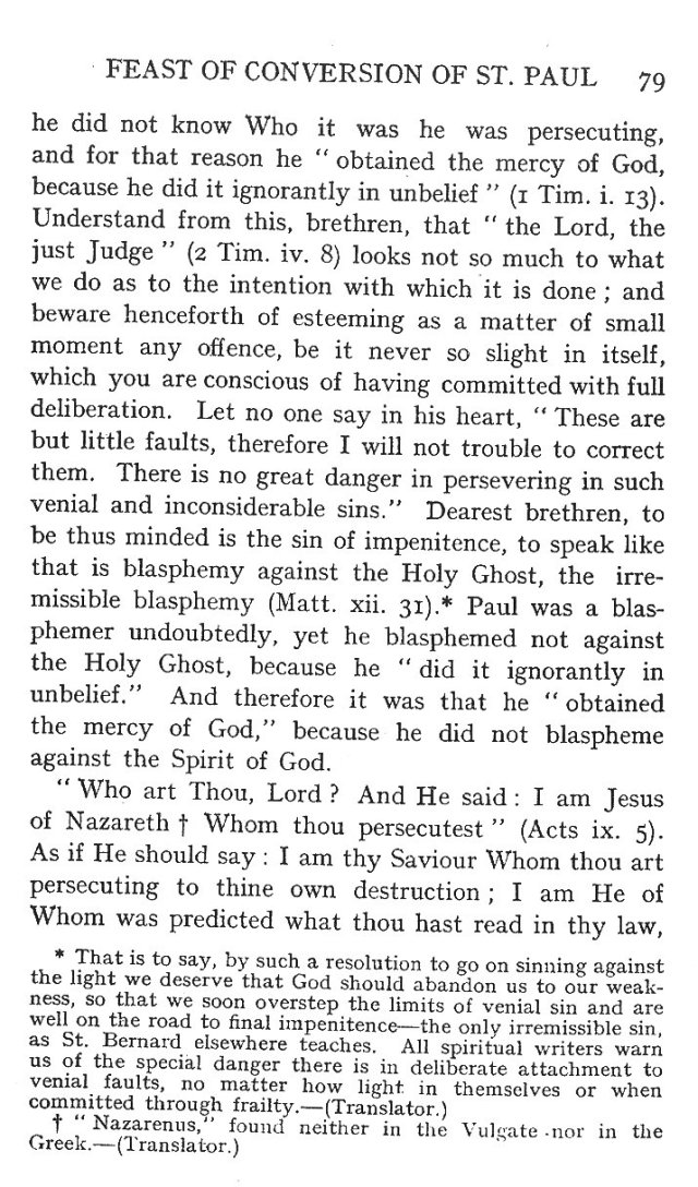 First Sermon Conversion St. Paul 7