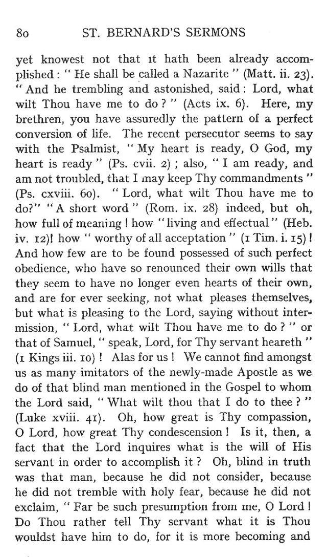 First Sermon Conversion St. Paul 8