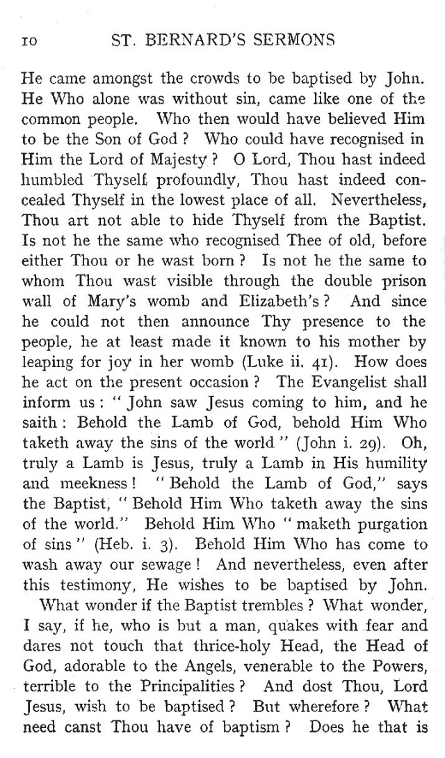 First Sermon Epiphany 10