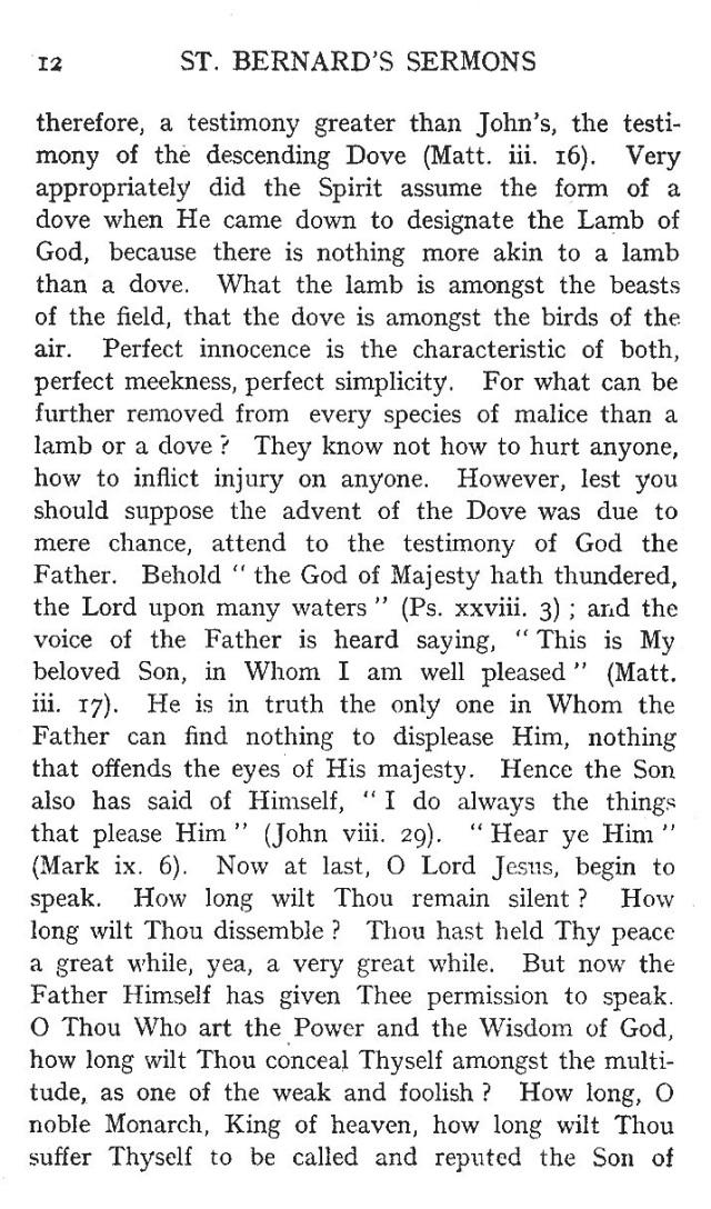 First Sermon Epiphany 12