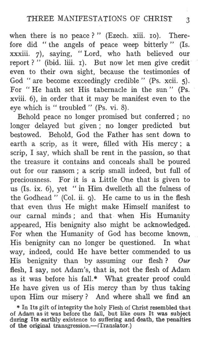 First Sermon Epiphany 3