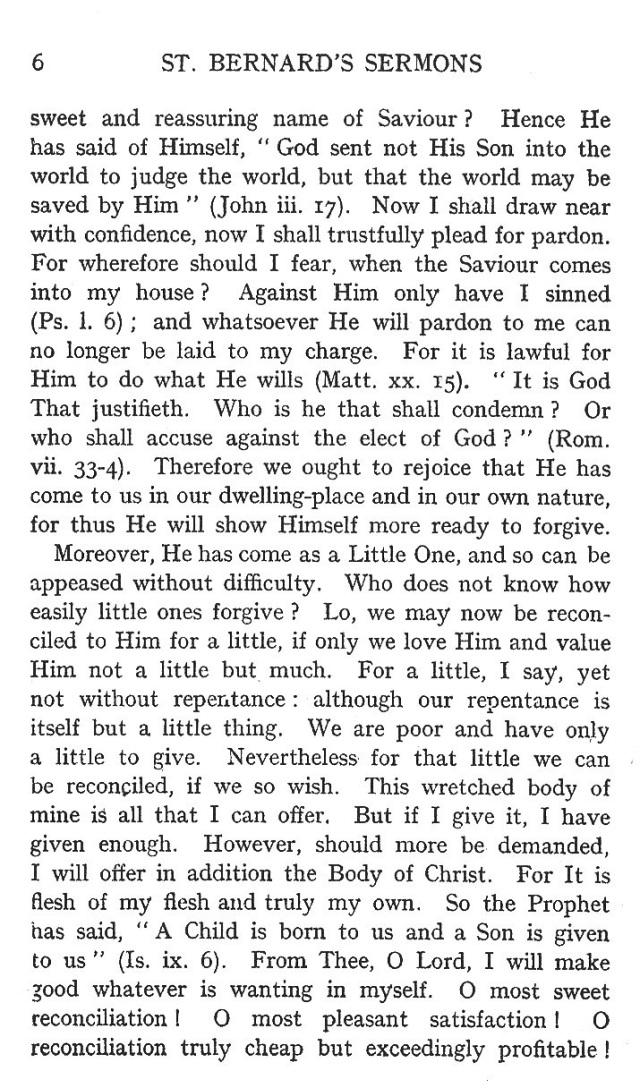 First Sermon Epiphany 6