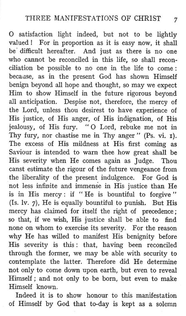 First Sermon Epiphany 7