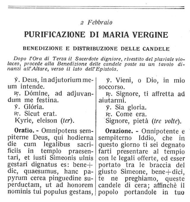 Purification BVM Ambrosian Missal 1