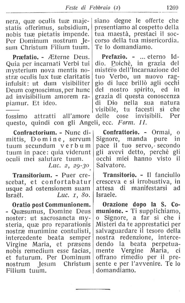 Purification BVM Ambrosian Missal 12